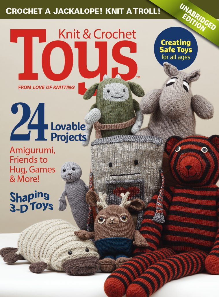 Knit and Crochet Toys Cover