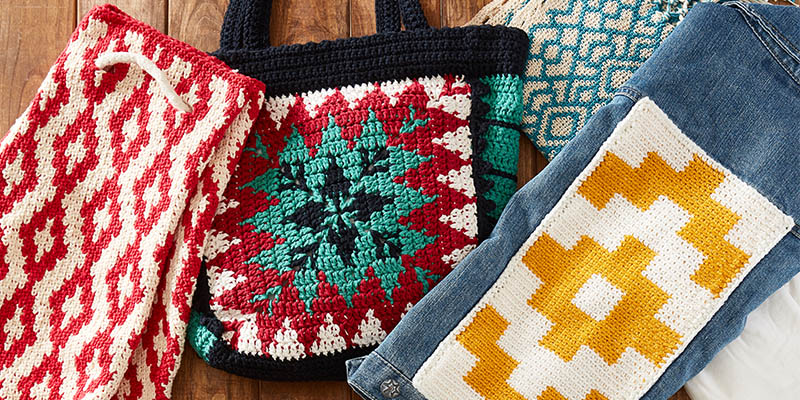 Tips And Tricks For Working Tapestry Crochet Interweave