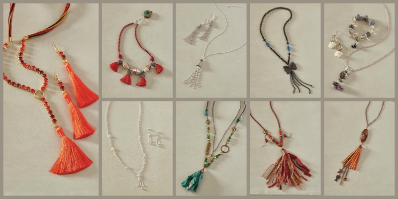 <em>Beadwork</em>, August/September 2018 Fast & Fabulous: Tassels