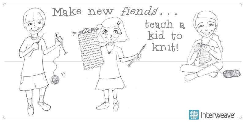 Lisa's List: Tips for Teaching Kids to Knit