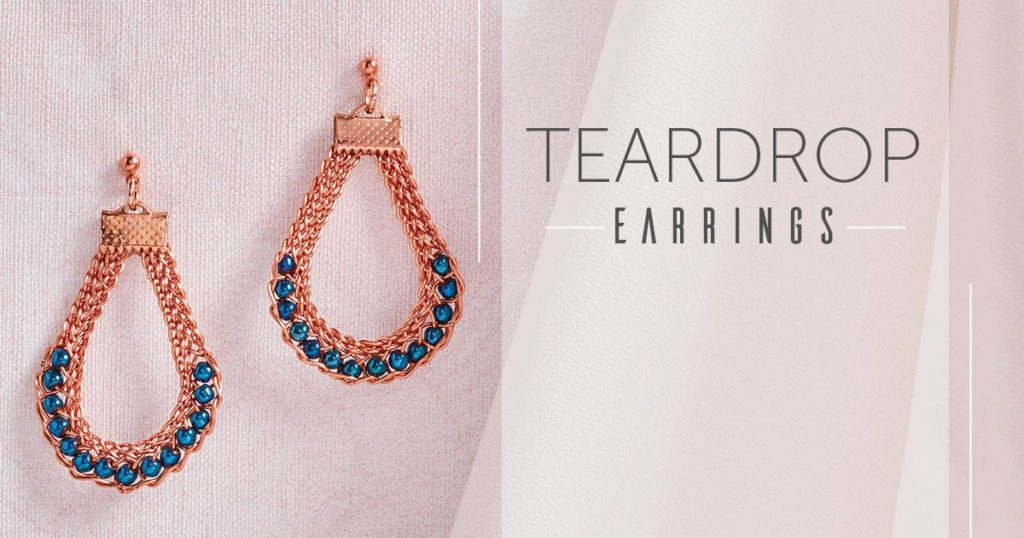 Kumihimo Wirework Made Easy: Teardrop Earrings