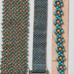 14 Fashionable Bead Weaving Patterns Featuring Pantone's Color of the Year: Ultra Violet