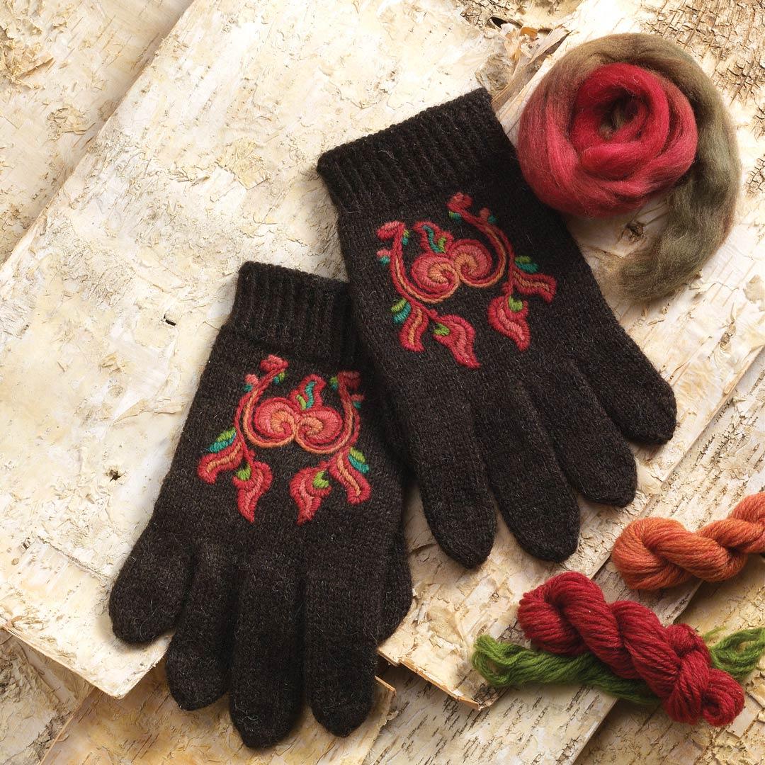Norwegian mittens