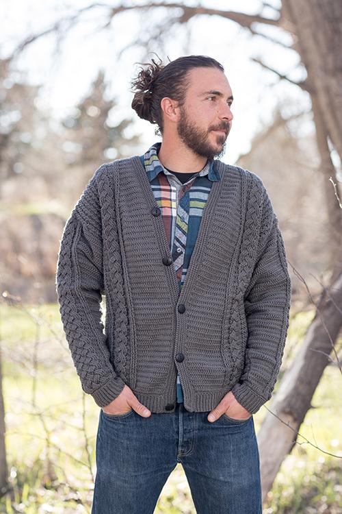 Temescal Cardigan Crochet Pattern