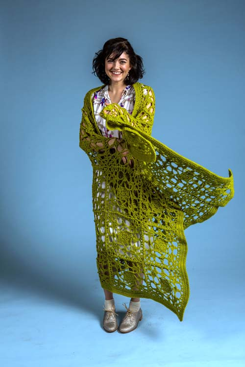 Tendrils Throw Crochet Pattern