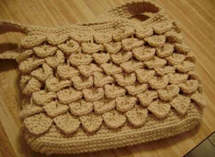 Crocodile Stitch Purse Free Pattern Interweave