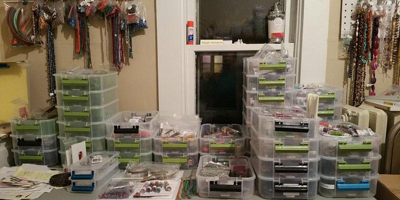 Organize Your Bead Studio Like Kumihimo Expert Maggie Thompson