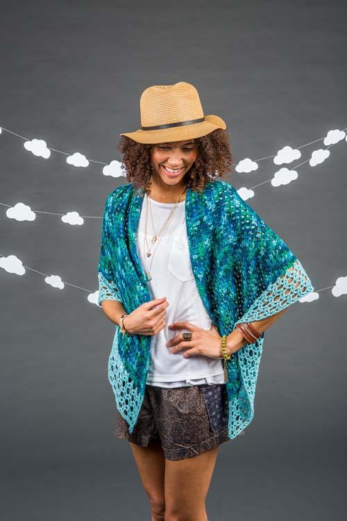 Tidal Crochet Shawl Pattern