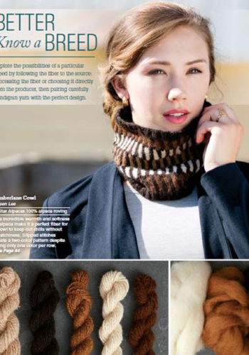 Timberlane Cowl by Eileen Lee
