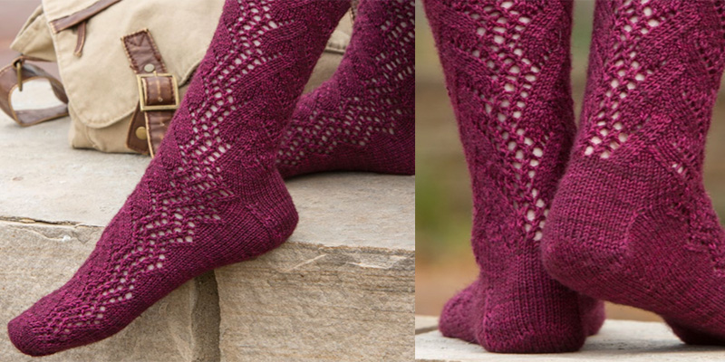 Quick Knit Gifts - Time Traveler Socks
