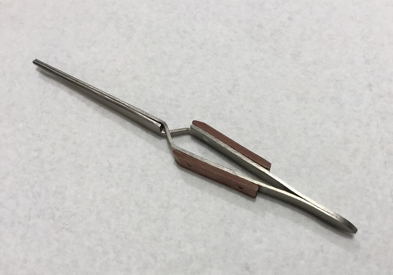 Metalsmithing: Transition Your Studio to Titanium - crosslocking tweezers
