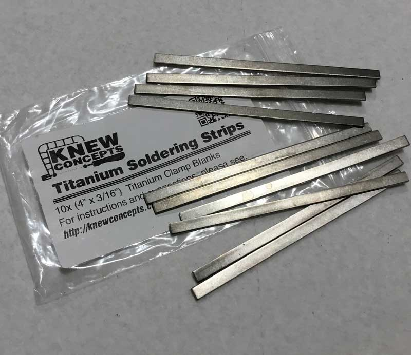 Metalsmithing: Transition Your Studio to Titanium - titanium strips