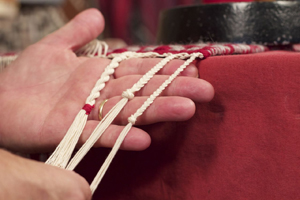 Finishing is an important part of learning how to weave a rug, and Tom Knisely will teach you tons of options.