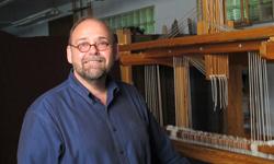 Tom Knisely, handweaving teacher extraordinaire
