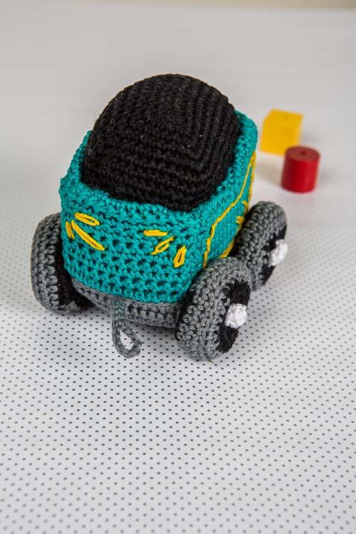 Train Coal Car Front