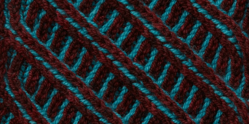 Get on a Roll with Bold Brioche Cables!
