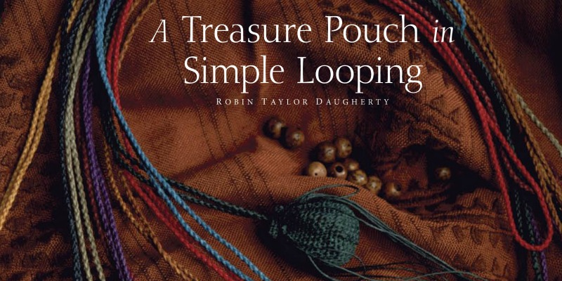 A Treasure Pouch in Simple Looping