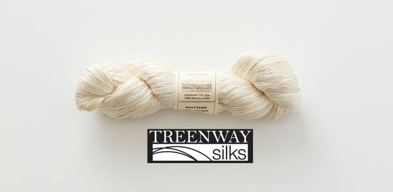 Treenway Silks laceweight yarn