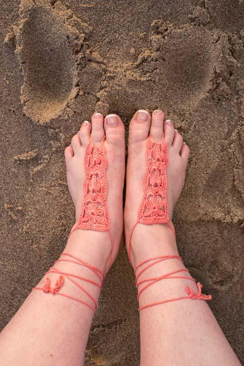 Trio of Barefoot Sandals Column Sandals