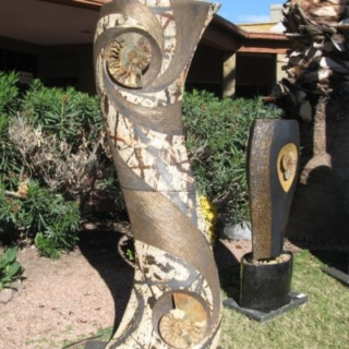hotel art all over Tucson for the Tucson gem shows