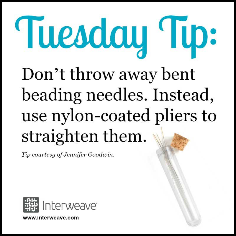 Save Money by Saving Your Bent Needles