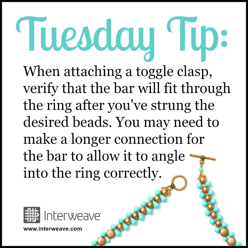 Adjust the Fit to Make Your Toggle Clasp Work