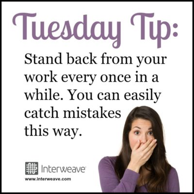 Bead Weaving TuesdayTip Helps You Find Mistakes