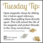 Create this On-Trend Metallic Wrap Bracelet from Beadwork Magazine