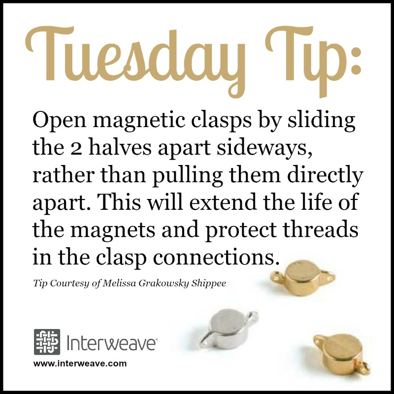 Using and Preserving Magnetic Clasps in Jewelry Making
