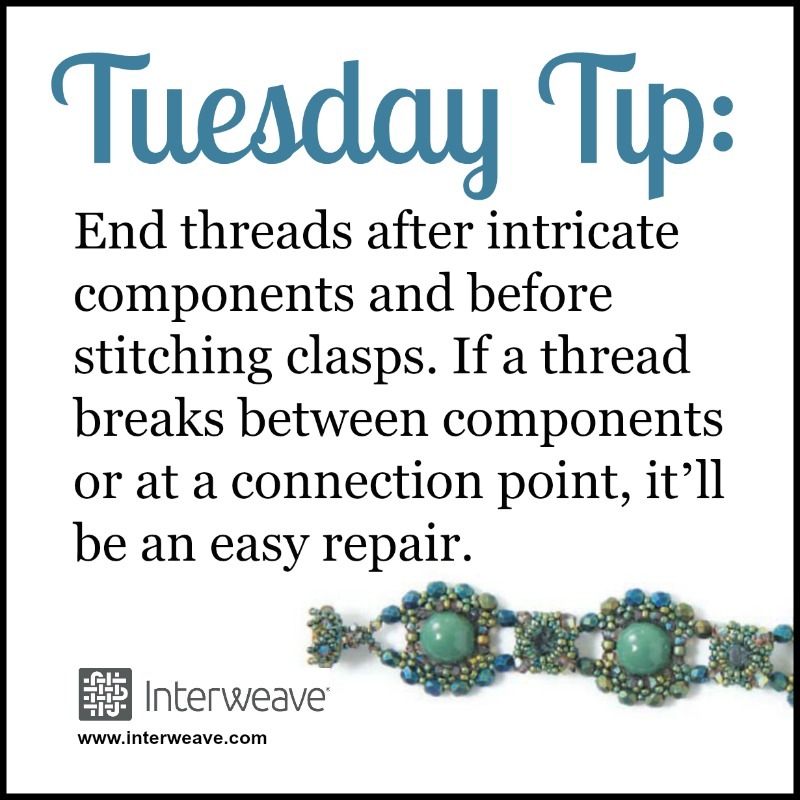 Thread Help and Tips for Quick Beadweaving Fix