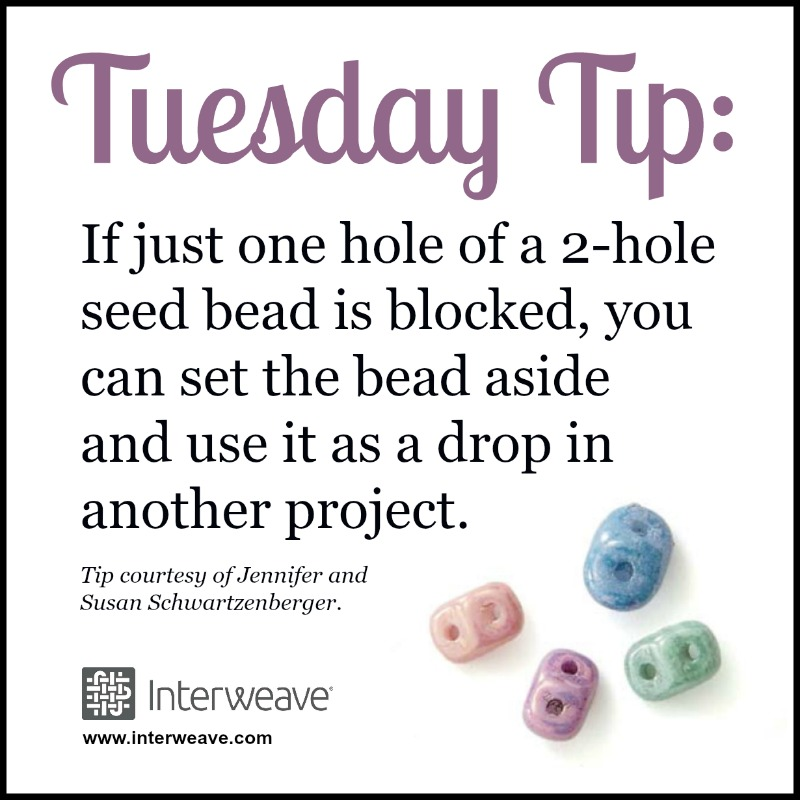 How To Save a Bead Without a Clear Opening