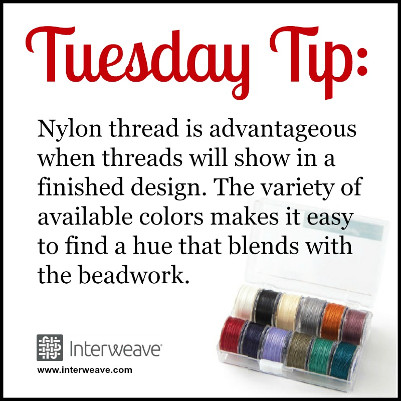Beading Tip for Blending Your Beading Thread with Your Beadwork