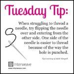 Bead Weaving Tip To Improve Threading Needles