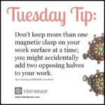 Tuesday Tip: Help for Adding a Magnetic Clasp to Your Beadwork