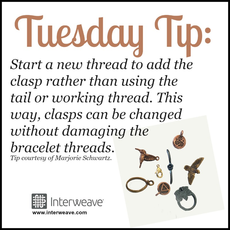Bead Weaving: The Best Way to Add a Clasp to Your Beadwork