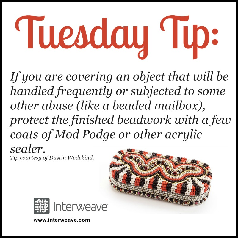 Beadwork: Protect Your Beaded Designs to Ensure Long Lasting Finish