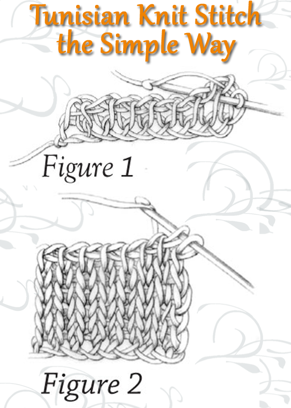 Tunisian Crochet Stitches Instructions Examples More Interweave