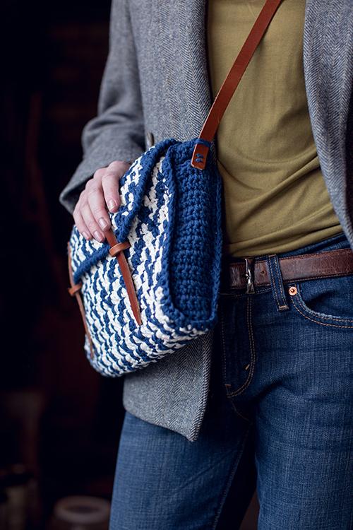 Tweedy Bag Side View