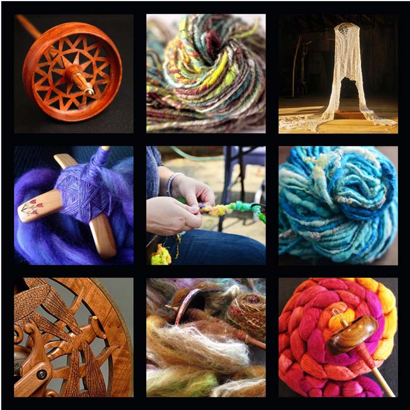 Photo courtesy of TWIST: The Art of Spinning by Hand