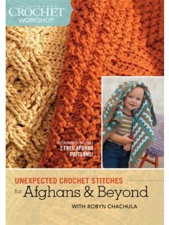 Unexpected Crochet Stitches | CrochetMe.com