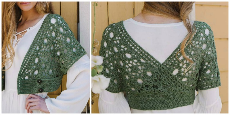 crochet motifs: Unfettered_Shrug