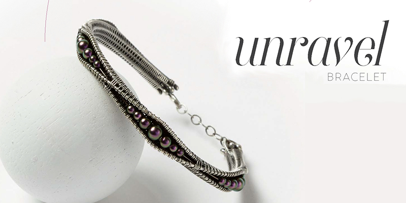 Woven in Wire Jewelry: Unravel Bracelet - Interweave