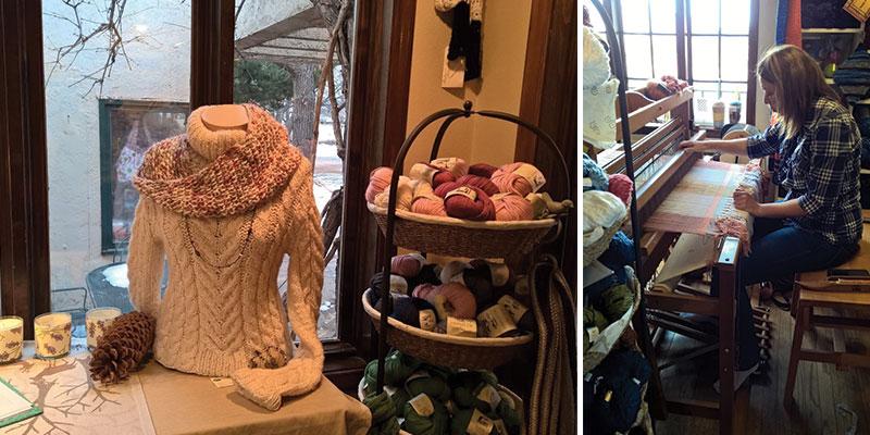 Colorado yarn shop