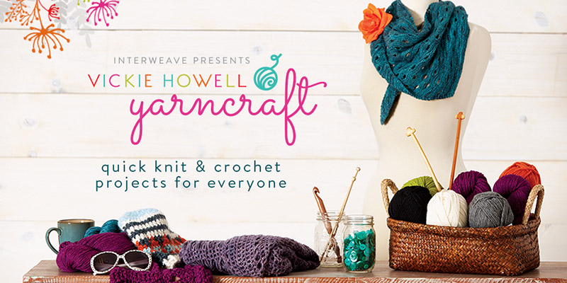 Bi-Craftual with Vickie Howell's Yarncraft