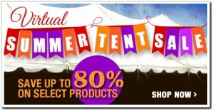 Virtual Summer Tent Sale