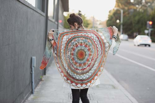 Ventura Crochet Shawl Wings