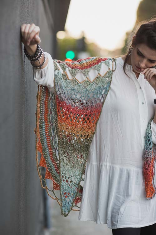 Ventura Shawl Wings