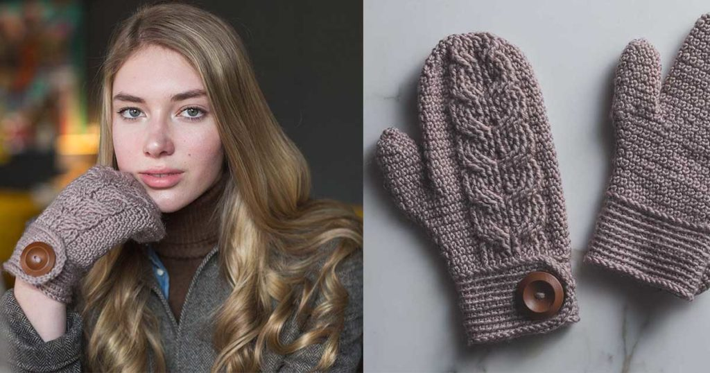 5 Reasons You Need These Crocheted Mittens for Fall!