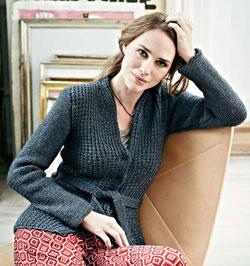 Vera knit cardigan pattern