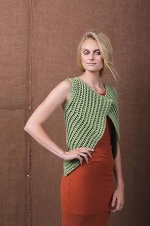 Verdant Vest Crochet Pattern